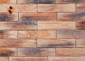 Manufactured facing stone veneer Wooden Brick item 010