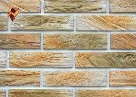 Manufactured facing stone veneer Wooden Brick item 014