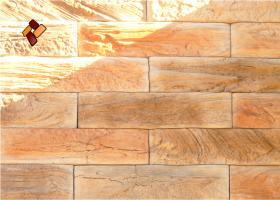 Manufactured facing stone veneer Wooden Brick item 01