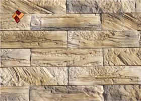 Manufactured facing stone veneer Wooden Brick item 02
