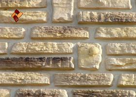"Decorative facing stone ""Sea breeze"" 05"