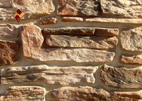 "Decorative facing stone ""Alpine village"" 03"