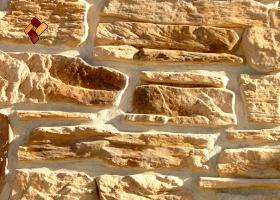 "Decorative facing stone ""Alpine village"" 04"