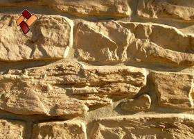 Manufactured facing stone veneer Alpine Village item 05