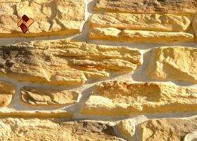 Manufactured facing stone veneer Alpine Village item 07