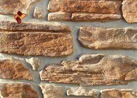 Manufactured facing stone veneer Alpine Village item 08