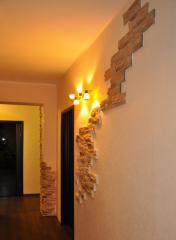 Отделка внутренних помещений искусственным декоративным камнем