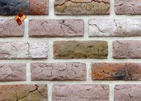 Manufactured facing stone Roman Brick item 011