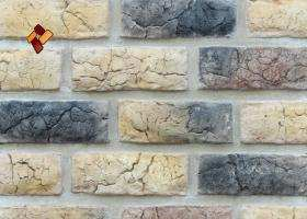 Manufactured facing stone Roman Brick item 017