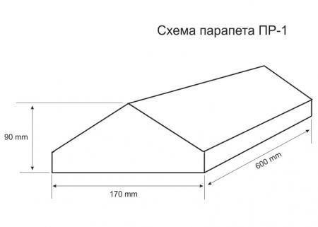 Парапет ПР-1 схема