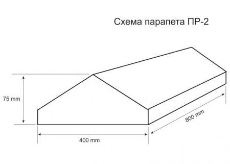 Парапет ПР-2 схема