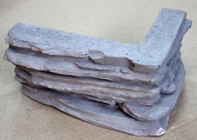 """Декоративный камень """"Американская скала"""" - угловые элементы"""
