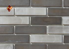 Manufactured facing stone Clinker Brick item 05