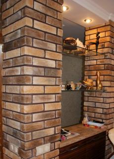 "stone ""Wood brick"""