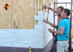 Art-Stone Company (Kazan) offers dry stack stone veneer panels