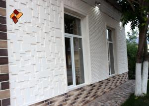 Concrete 3D panels for exterior finishing