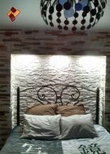 Альпийский сланец артикул 09 - уютный интерьер спальни