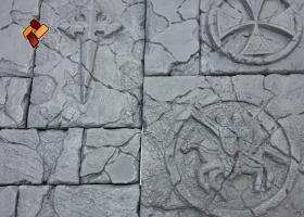 """Декоративный облицовочный камень """"Мальтийский форт"""" артикул 07"""
