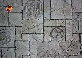 "Decorative facing stone ""Maltese fort"" 03"