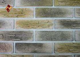 Manufactured facing stone Archean Brick Item 01