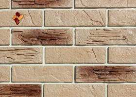 Manufactured facing stone Archean Brick Item 05