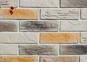 Manufactured facing stone Archean Brick Item 07
