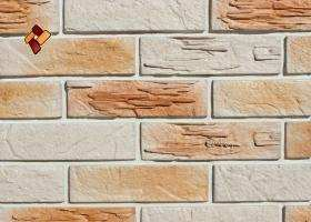 Manufactured facing stone Archean Brick Item 08