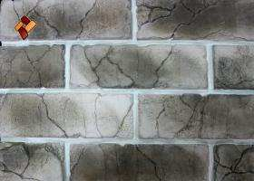 "Decorative facing stone ""Teutonic brick"" 01"