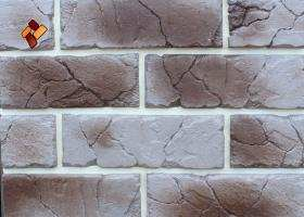 Manufactured facing stone veneer Teutonic Brick item 010