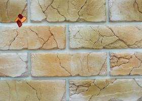 Manufactured facing stone veneer Teutonic Brick item 011
