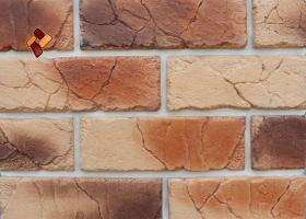 Manufactured facing stone veneer Teutonic Brick item 012