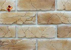 Manufactured facing stone veneer Teutonic Brick item 014