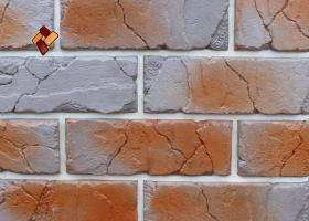 Manufactured facing stone veneer Teutonic Brick item 015