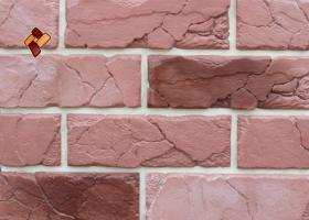 Manufactured facing stone veneer Teutonic Brick item 03