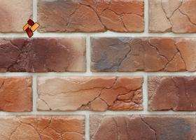 Manufactured facing stone veneer Teutonic Brick item 04