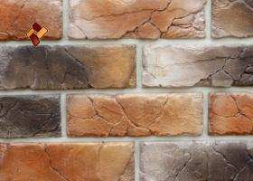 Manufactured facing stone veneer Teutonic Brick item 05