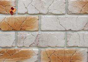 Manufactured facing stone veneer Teutonic Brick item 07