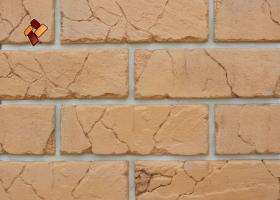 Manufactured facing stone veneer Teutonic Brick item 08