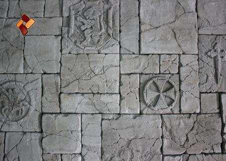 """Декоративный искусственный камень """"Мальтийский форт"""" артикул 03"""