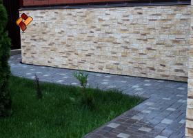 """бетонные ступени и """"Дворцовый камень"""""""