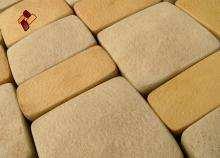 "Professional polyurethane molds by ""Art-Kamen"" company  - Arbat cobbles"