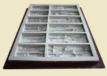 "Professional polyurethane molds by ""Art-Kamen"" company - Stone ridge"