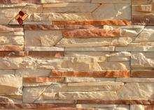 "Professional polyurethane molds by ""Art-Kamen"" company - Broken canyon"