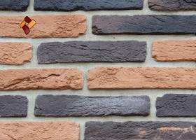 "Decorative facing stone ""Aged brick"" 014"