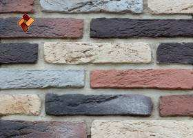 Manufactured facing stone Aged Brick	item 015