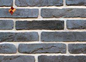 "Decorative facing stone ""Aged brick"" 023"