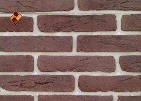 "Decorative facing stone ""Aged brick"" 025"