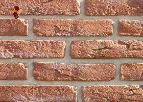 Manufactured facing stone Aged Brick	item 05
