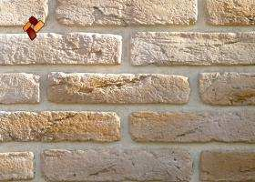 "Decorative facing stone ""Aged brick"" 07"