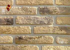 Manufactured facing stone Aged Brick	item 08